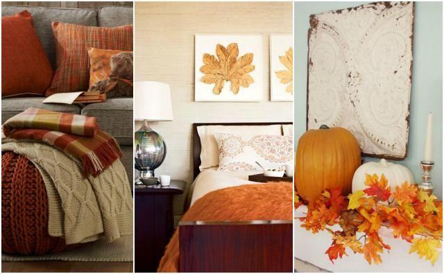 Dekoracyjne trendy na jesień: Jak udekorować pokój?