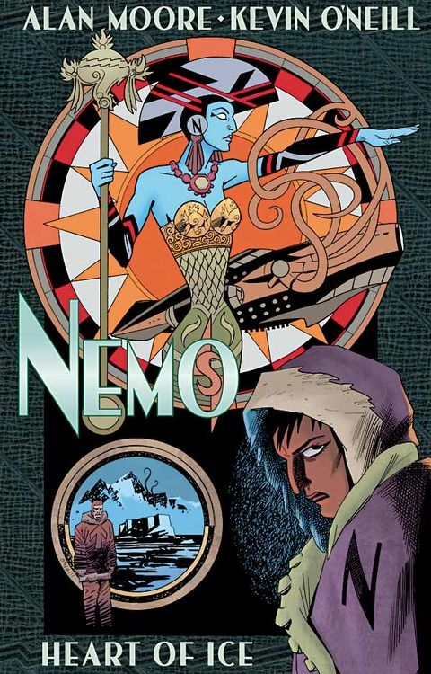 Nemo: Heart of Ice – Cover Revealed!  More details on Gosh Comics blog … 'Due February 2013'