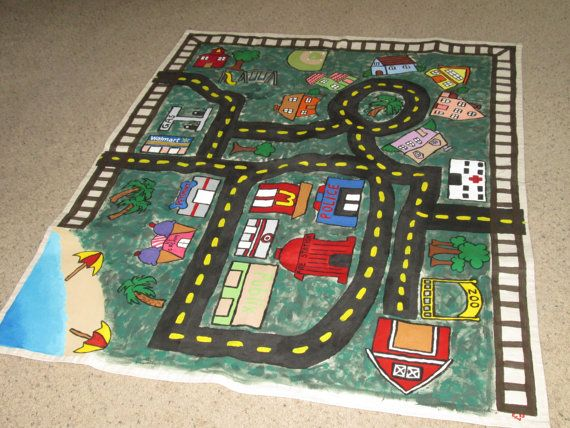 1000 Images About Car Play Mat On Pinterest Kids Cars