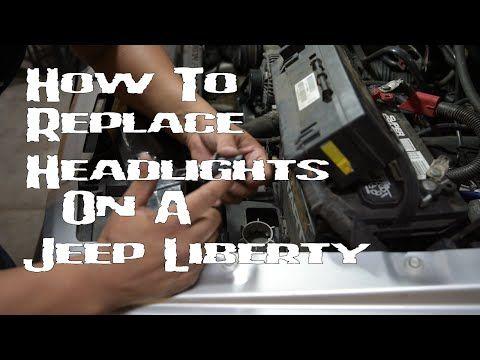 Jeep Liberty Headlight Bulb Replacement KJ 2002-2007 - YouTube