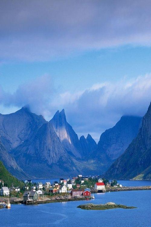 Gudvangen, Norway.