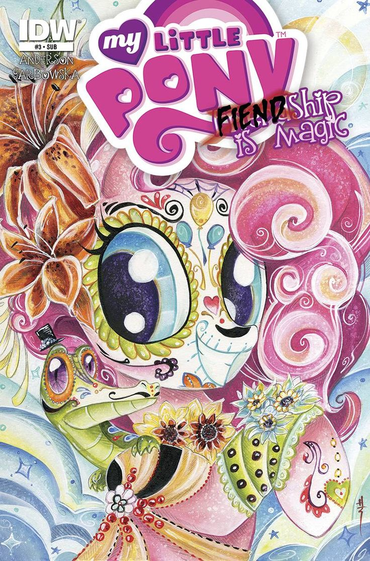 Fiendship is Magic #3 (Sirens) Comic Subscription Cover