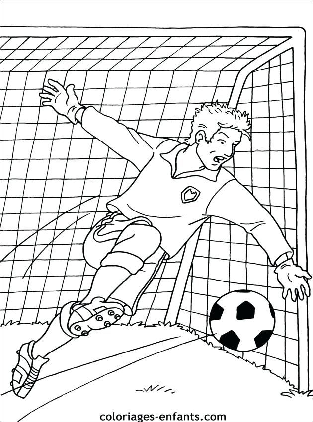 Coloriage Gratuit Imprimable De Football Foot S Football A Foot S