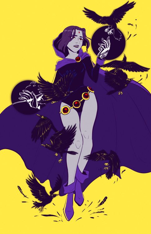 Raven from Teen Titans - Janet Chan