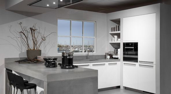 Apothekerskast Keuken 30 Cm : Keuken Idee?n op Pinterest – Keukens, Kookeilanden en Kleine Keukens