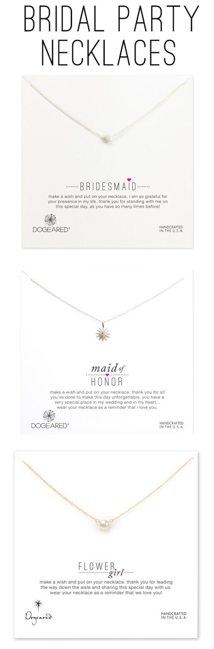 A gift for each special lady involved in your wedding day!