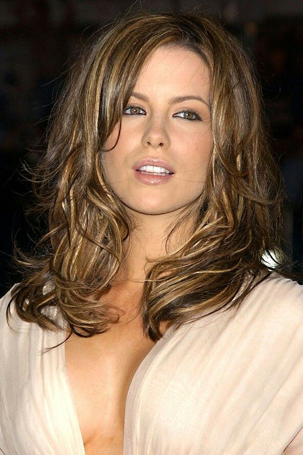 Highlighted Hair Hair Kate Beckinsale Kate Beckinsale