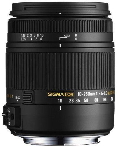 Sigma Objectif Macro 18-250 mm F3,5-6,3 DC OS HSM - Monture Canon