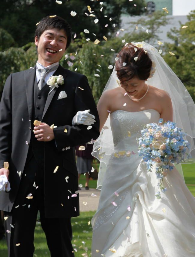 新郎新婦様からのメール グランドプリンス高輪様へ : 一会 ウエディングの花