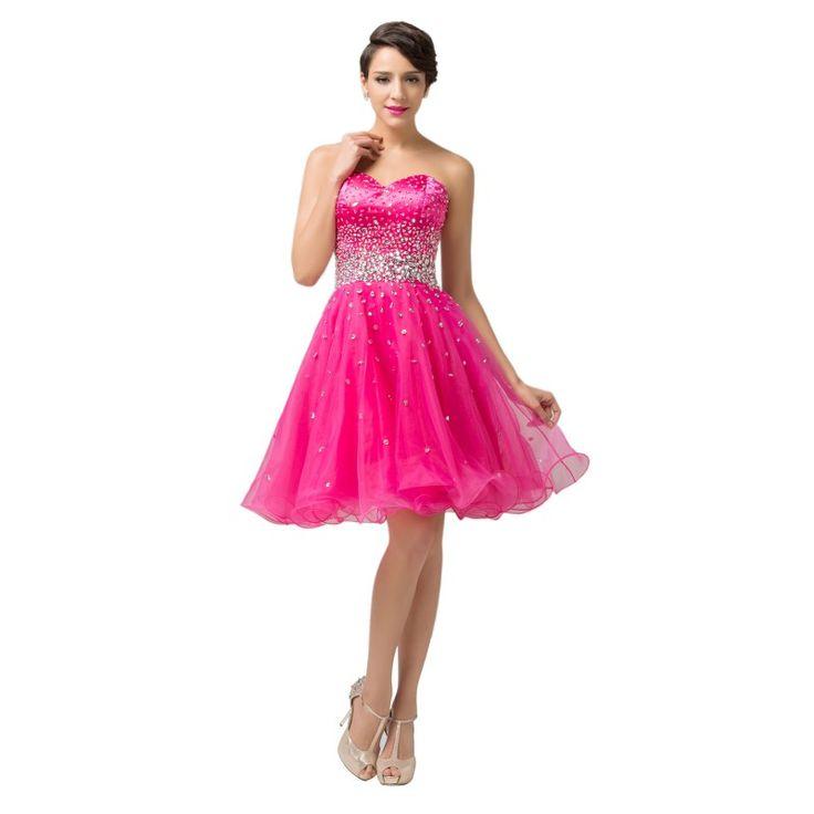 Cyklaménové spoločenské šaty CL6145-2