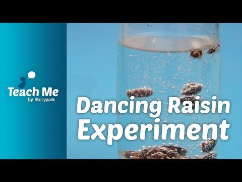 Teach Me: Dancing Raisin Experiment - YouTube