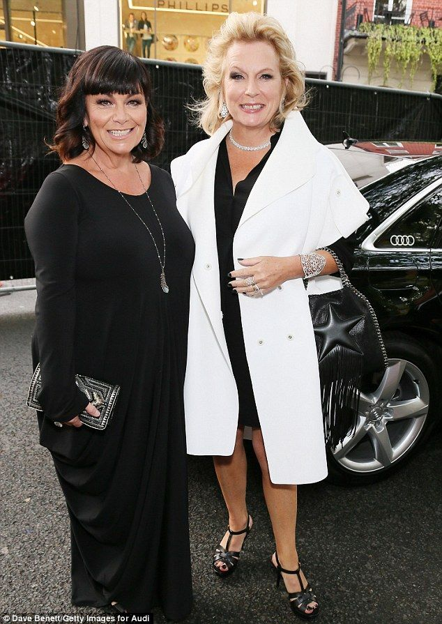 Now: Maybe it's a good laugh that keeps them looking young. Because when Dawn French and Jennifer Saunders appeared together this week they seemed to have rolled back the years