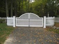 38 best images about cedar driveway and entranceway gates for Ready made driveway gates