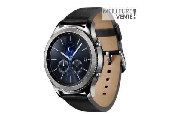 Samsung Gear S3 Classic pas cher prix Montre connectée Boulanger 399.99 €