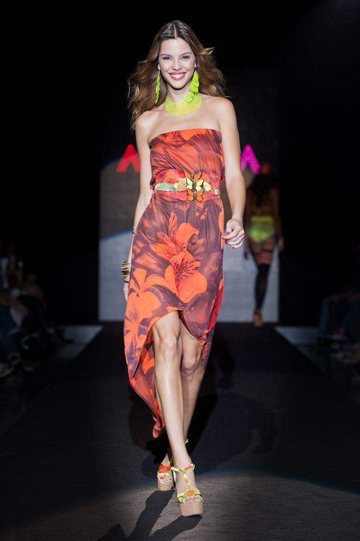 #Agogoa #MFW13 #beachwear #bikinology #beachcouture #love #colors #flowerpower