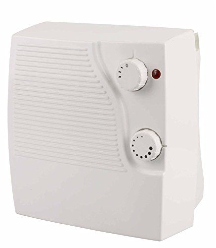 Electric Bathroom Heaters Uk: Futura 2000W Eco Electric Bathroom Heater, Fantastic Fan