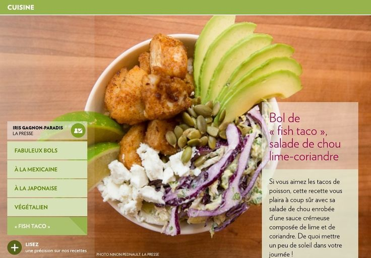 Si vous aimez les tacos de poisson, cette recette vous plaira à coup sûr avec sa salade de chou enrobée d'une sauce crémeuse composée de lime et de coriandre. De quoi mettre un peu de soleil dans votre journée!