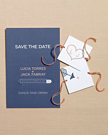 Spinner Card Save The Date #wedding