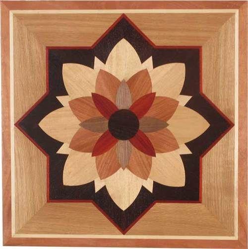 Acrylic Floor Inlays : Ipwm dylan exquisite hardwood inlay floor medallions