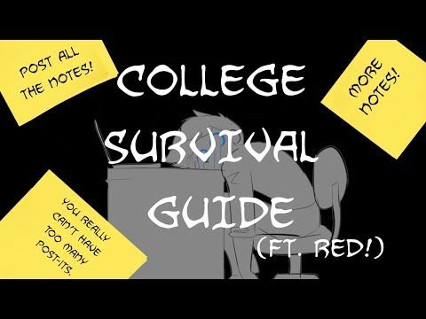 BLUE'S COLLEGE SURVIVAL GUIDE (ft. Red!) - YouTube
