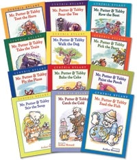 Our latest series we've fallen in love with. Mr. Putter and Tabby books - perfect for second grade.