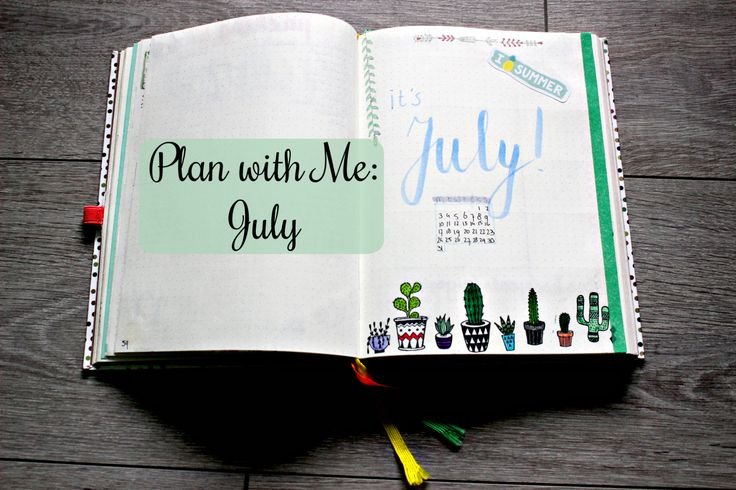 Plan With Me: July