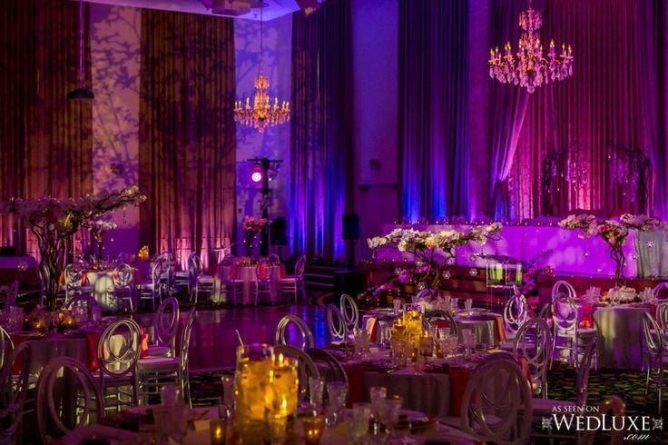 Oasis Centre - Elegant Wedding Reception - Jennifer Bergman Weddings - Startdust Productions