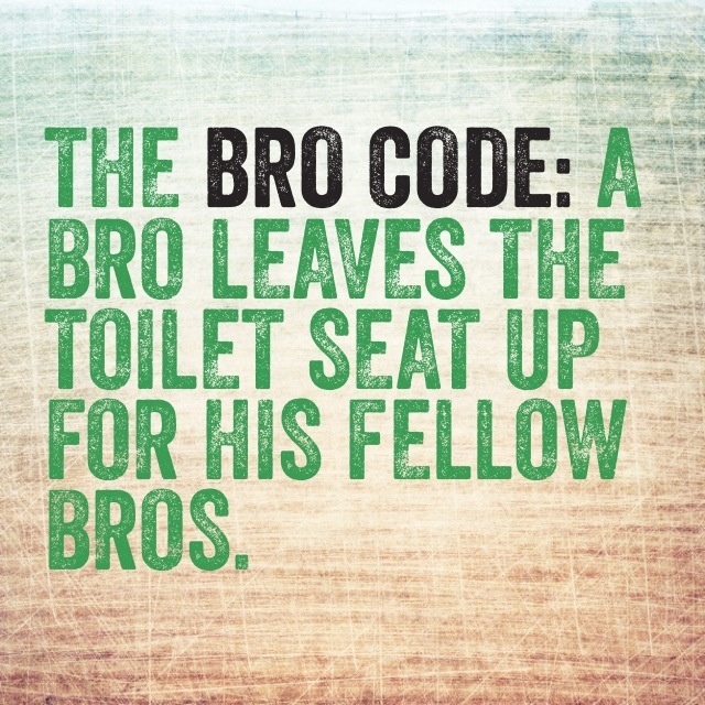 the bro code essay Free essay: my chosen scene is  barney praises robin for being an awesome bro robin is a gun enthusiast,  more about essay on gender stereotypes in tv show.