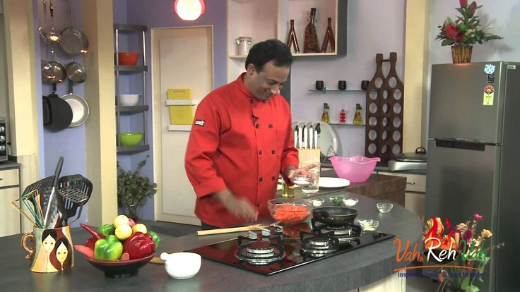 Carrot and Mango Salad - VahRehVah Hindi Recipes