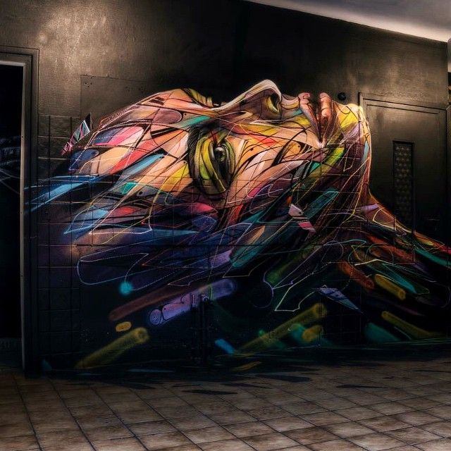 Street Art by Hopare in Anglet, France