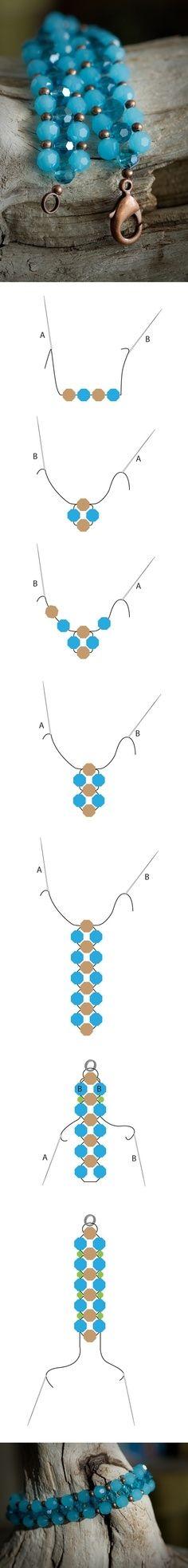 DIY Bead Bracelets diy crafts craft ideas easy crafts diy ideas crafty easy diy diy jewelry diy bracelet craft bracelet jewelry diy