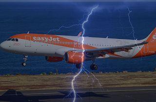 Planet Stars: Αεροπλάνο χτυπήθηκε από κεραυνό στο αεροδρόμιο της...