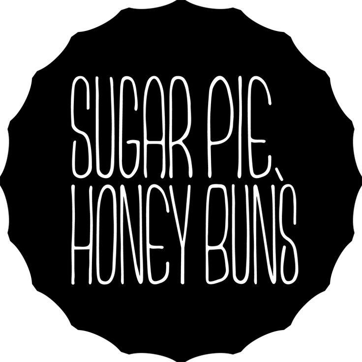sugar pie honey buns logo