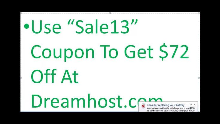 Dreamhost Coupons And Promo Code To Get $72 off