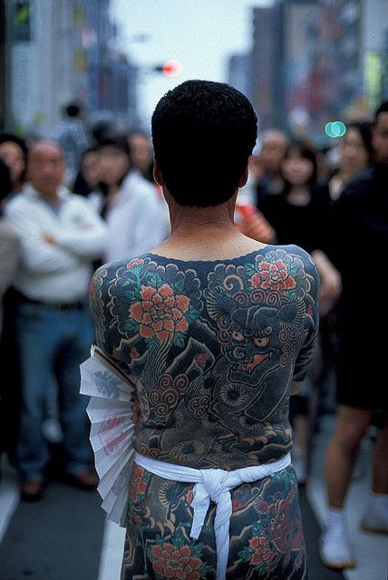 Japanese people 2 by cktse on flickr tattoo for Onsen tattoos allowed
