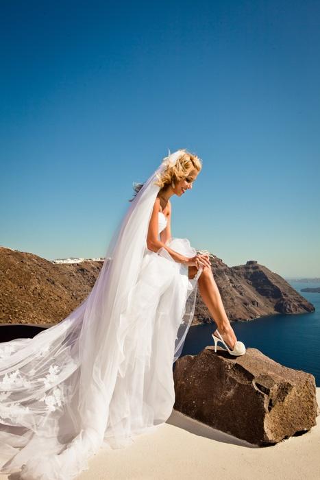 Santorini Brides