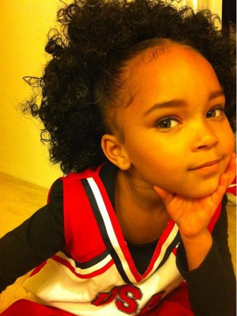 Natural Curly Hair Hairstyle Pinterest 子供