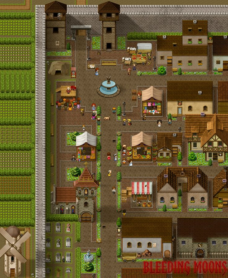 17 Best Images About RPG Maker Maps On Pinterest