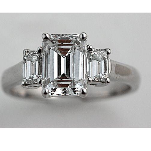 engagement ringVintage Engagement Rings, Wedding Ring, Emeralds Cut Engagement, Emerald Cut Diamonds, Antiques Diamonds, Art Deco Diamonds, Stones Emeralds, Emeralds Cut Diamonds, Diamonds Engagement