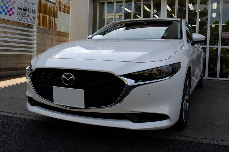 コーティング Mazda3 セダン スノーフレイクホワイトパールマイカ マツダ3セダン セダン マツダ3