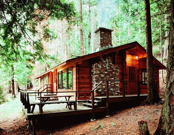 25 Best Ideas About Wood Cabins On Pinterest Log Cabin