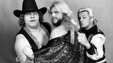 The Fabulous Freebirds Terry Gordy, Michael Hayes & Buddy Roberts
