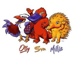 Olly, A Kookaburra, Syd, A Platypus and Millie, An Echidna  2000 Sydney Olympics