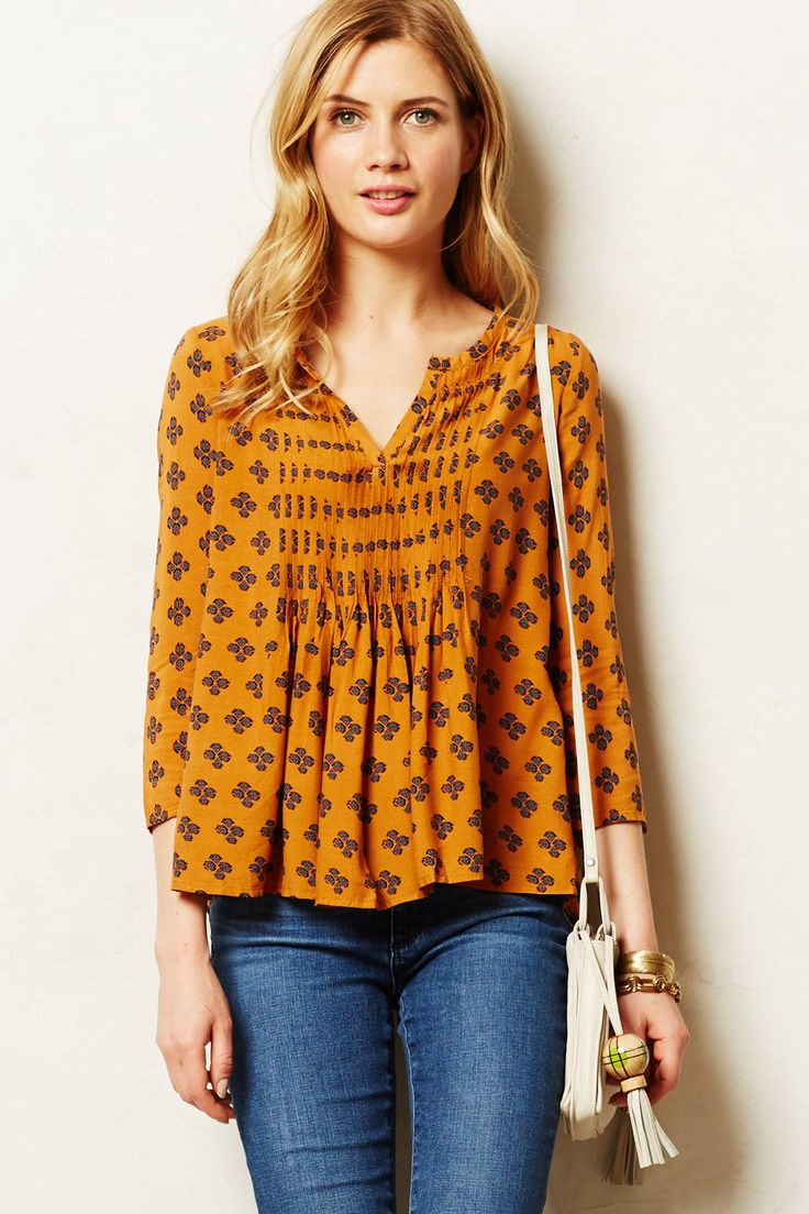 Love this top from Anthro