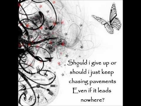 """Chasing Pavements"""