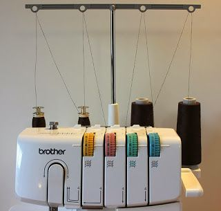 yo elijo coser: Truco para ahorrar hilo en la overlock