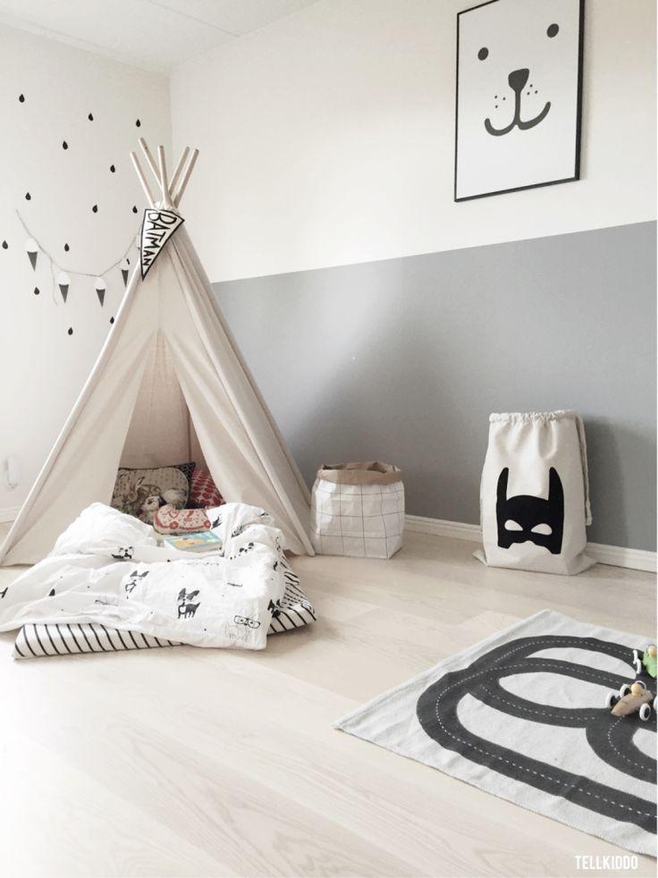 Kinderkamer inspiratie | Een tipi geeft een knusse speelplek
