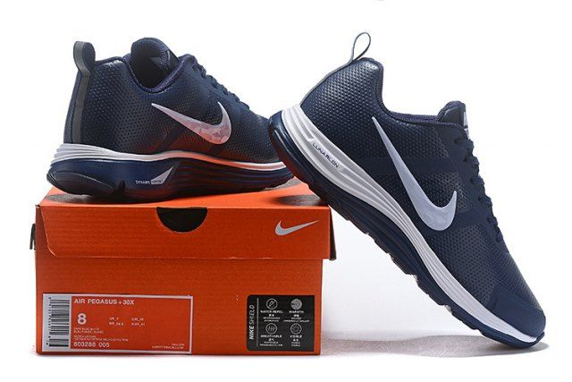 quality design 060ae 6df4d Nike Air Zoom Pegasus 30 Men s Running Shoe Dark Blue White