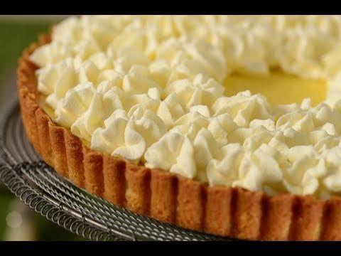 Lemon Tart Recipe Demonstration - Joyofbaking.com