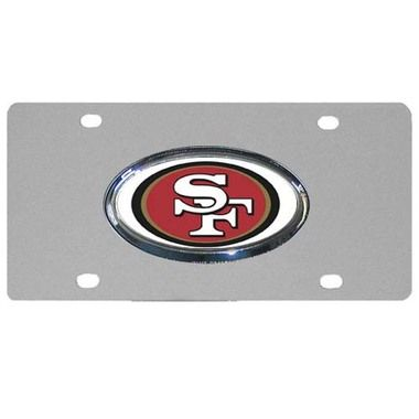 San Francisco 49ers Steel Plate